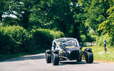 Ariel Nomad R 2020 UK first drive review - cornering front
