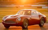 Aston Martin DB4 Zagato Continuation 2019 first drive review - static front