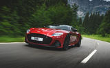 Aston Martin DBS Superleggera 2018 first drive review on the road front