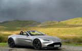 Aston Martin Vantage Roadster 2020 UK first drive review - static front