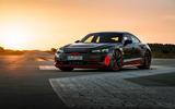 Audi RS E-tron GT 2021 prototype drive - static front