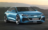 Audi EV render