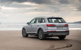Audi Q7 2019 first drive review - static rear