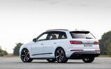 Audi Q7 TFSI e 2019 first drive review - static rear