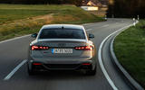 Audi RS5 Coupé 2020 first drive review - on the road rear