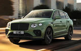 Bentley Bentayga facelift - hero front