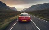 17 Bentley Fyling Spur V8 2021 UK review on road rear