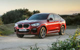 BMW X4 2018 UK first drive review static hero