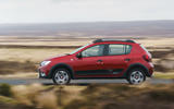 Dacia Sandero Stepway Techroad 2019 first drive review - on the road side