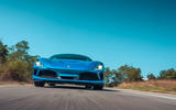 Ferrari F8 Tributo 2019 first drive review - on the road low