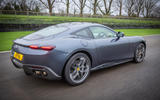 Ferrari Roma 2021 UK first drive review - on the road rear