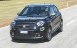 Fiat 500x Sport 2019 first drive review - on the road nose