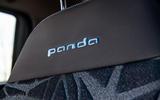 Fiat Panda Cross Hybrid 2020 first drive review - seat details