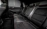 17 Ford Kuga FHEV 2021 UK FD rear seats