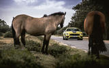 17 Ford Mustang Mach 1 2021 UK first drive review on road horses