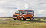 17 Ford Transit Nugget 2021 UK FD on road front
