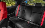 Honda Civic Type R 2020 UK first drive review - rear seats
