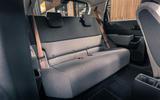 Honda e 2020 UK first drive review - rear seats