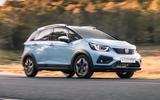 Honda Jazz Crosstar 2020 UK first drive review - tracking