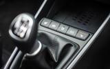17 Hyundai Bayon 2021 UK FD drive mode button