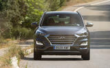 Hyundai Tucson 2.0 CRDI 48v 2018 first drive review on the road front
