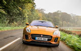Jaguar F-Type MY2018 first drive review - on the road nose