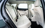 17 Jaguar XF Sportbrake 2021 UK first drive review rear seats