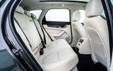 17 Jaguar XF Sportbrake P250 2021 UK review rear seats