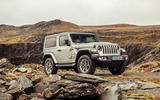 Jeep Wrangler 2019 UK first drive review - static front