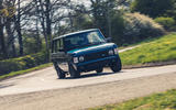 17 JIA Range Rover Chieftain 2021 UK FD cornering front