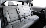 Kia Niro EV 2019 first drive review rear seats