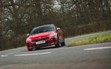 17 Kia Stinger GT S 2021 UK review on road front