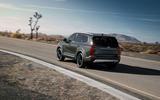 Kia Telluride 2019 first drive review - cornering rear