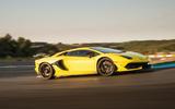 Lamborghini Aventador SVJ 2018 first drive review track side