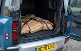 17 Land Rover Defender Hard Top Commercial 110 UK FD rear space