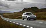 Land Rover Range Rover D300 2020 UK first drive review - on the road