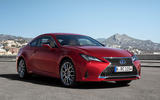 Lexus RC 300h 2019 first drive review - static front