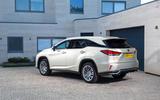 17 Lexus RX 450h L 2021 UK FD static rear