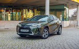 17 Lexus UX300e 2021 UK first drive review static