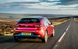 Mazda 3 2019 UK first drive review - on the road rear