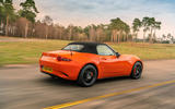 Mazda MX-5 30th Anniversary Edition 2019 UK first drive review - on the road roof up