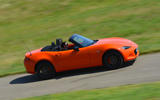 Mazda MX-5 30th Anniversary Edition 2019 UK first drive review - on the road side