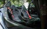 McLaren 570S Spider Track Pack 2018 UK review seats