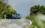 McLaren 720S Spider 2019 UK first drive - on the road front