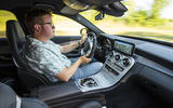 Mercedes-AMG C63 2018 first drive review Matt Saunders driving