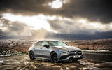 Mercedes-AMG CLA 35 Shooting Brake 2020 UK first drive review - static front