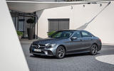 Mercedes-Benz C-Class C200 AMG Line 2018 UK review static front