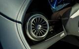 17 Mercedes Benz EQS 2021 UK LHD FD air vents