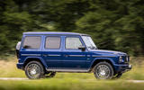 Mercedes-Benz G400d 2019 first drive review - on the road side