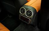 17 Mercedes C Class Estate 2021 UK LHD FD rear climate controls